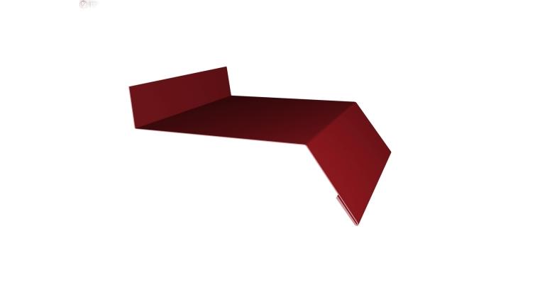 Отлив простой 200 0,45 PE с пленкой RAL 3011 коричнево-красный