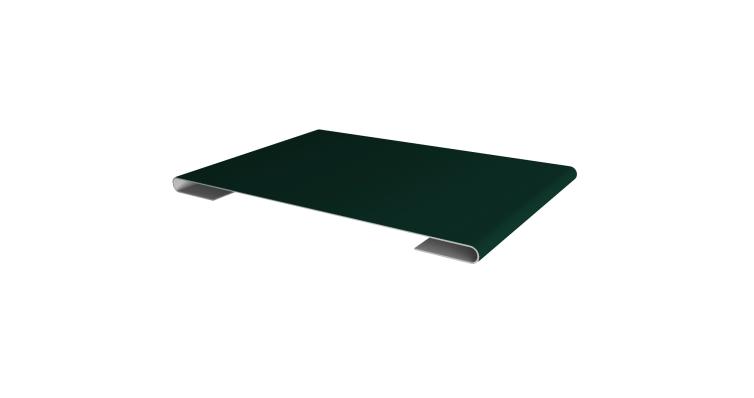 Планка стыковочная 0,45 PE с пленкой RAL 6005 зеленый мох