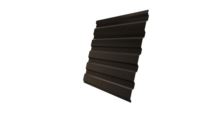 Профнастил С20А Grand Line 0,5 Velur20 RR 32 темно-коричневый