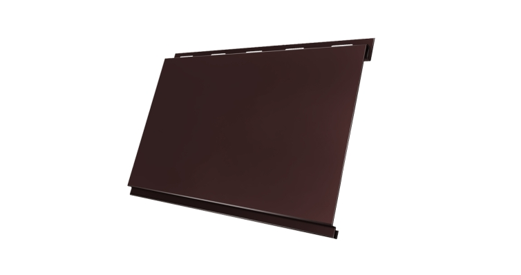 Вертикаль 0,2 classic 0,5 Satin с пленкой RAL 8017 шоколад