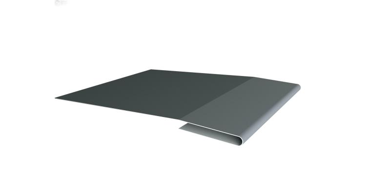 Планка начальная 0,45 PE с пленкой RAL 7005 мышино-серый