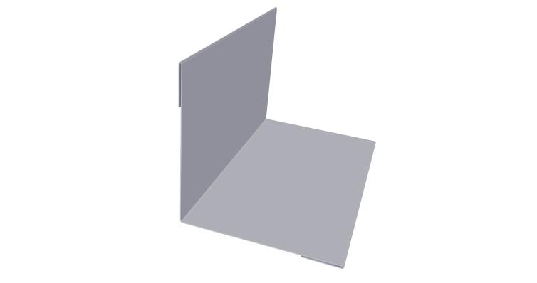 Угол внутренний 110х110 0,45 PE с пленкой RAL 7004 сигнальный серый