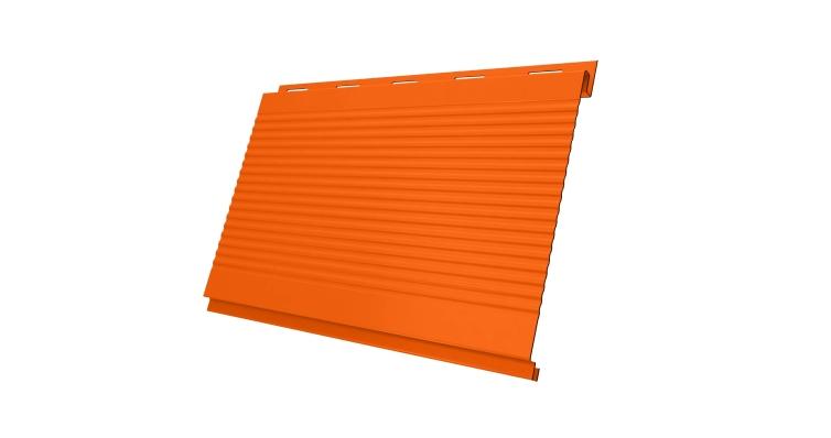 Вертикаль 0,2 gofr 0,45 PE с пленкой RAL 2004 оранжевый