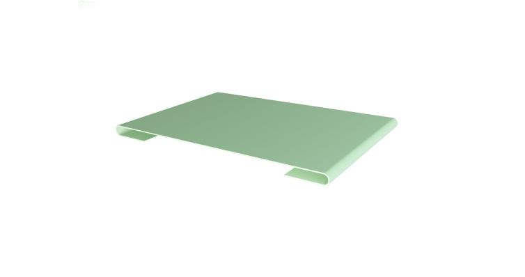 Планка стыковочная 0,45 PE с пленкой RAL 6019 бело-зеленый