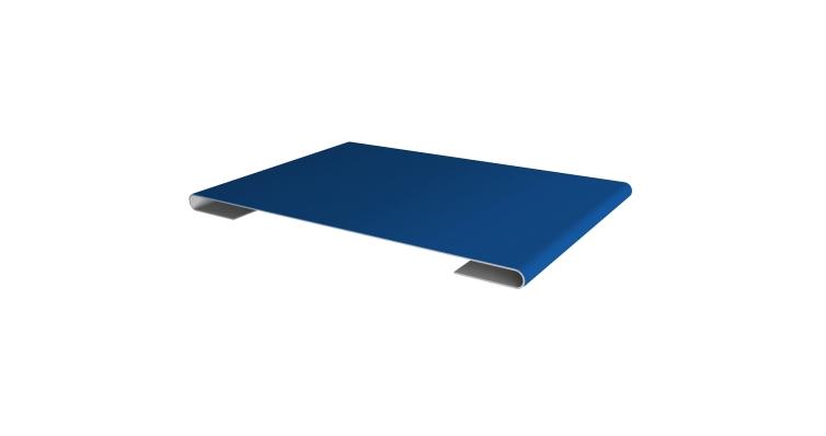 Планка стыковочная 0,45 PE с пленкой RAL 5005 сигнальный синий