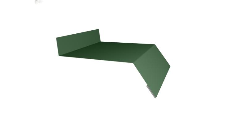 Отлив простой 200 0,45 PE с пленкой RAL 6002 лиственно-зеленый