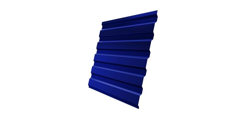 Профнастил С20А 0,45 PE с пленкой RAL 5002 ультрамариново-синий