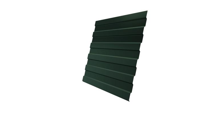 Профнастил С8А Grand Line 0,5 Velur20 RAL 6020 хромовая зелень
