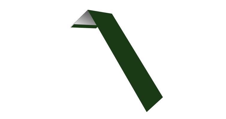 Планка лобовая/околооконная простая 190х50 0,45 PE с пленкой RAL 6002 лиственно-зеленый