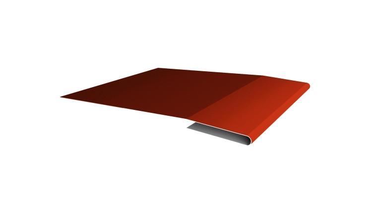 Планка начальная 0,45 PE с пленкой RAL 2004 оранжевый