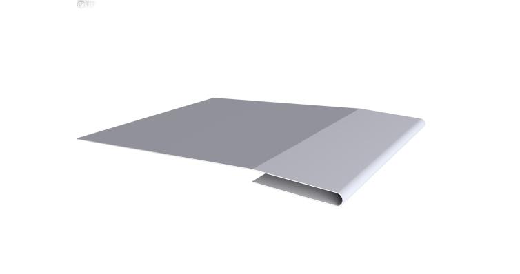 Планка начальная 0,45 PE с пленкой RAL 7004 сигнальный серый