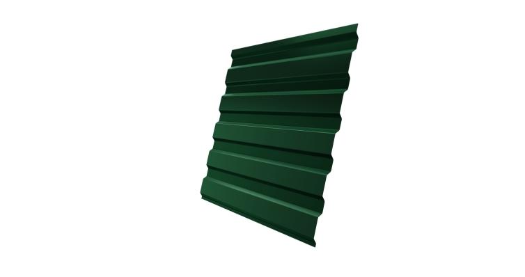 Профнастил С20А 0,45 PE с пленкой RAL 6005 зеленый мох