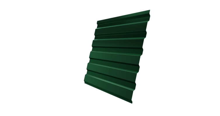 Профнастил С20А 0,5 Satin RAL 6005 зеленый мох