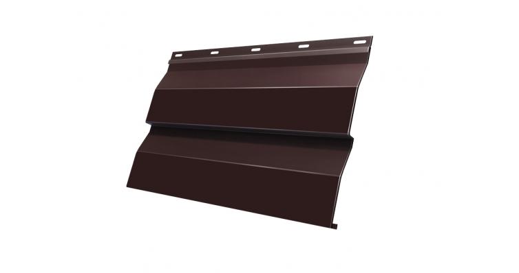 Корабельная Доска 0,265 0,45 PE RAL 8017 шоколад