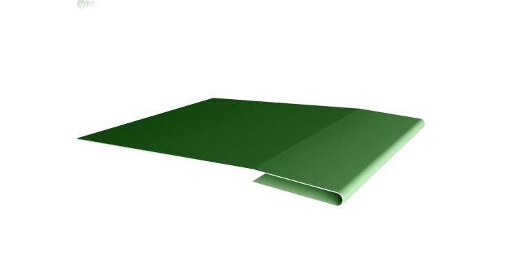 Планка начальная 0,45 PE с пленкой RAL 6002 лиственно-зеленый