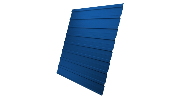 Профнастил С10A 0,7 PE RAL 5005 сигнальный синий
