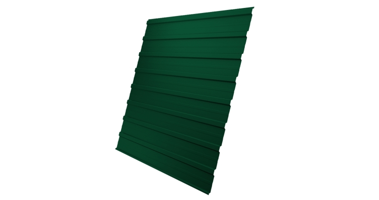 Профнастил С10A 0,4 PE RAL 6005 зеленый мох