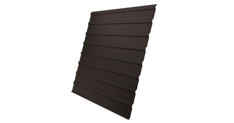 Профнастил С10A Grand Line 0,5 Velur20 RR 32 темно-коричневый