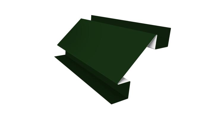 Угол внутренний сложный 75мм 0,45 PE с пленкой RAL 6002 лиственно-зеленый