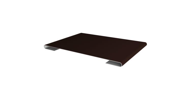 Планка стыковочная 0,4 PE с пленкой RAL 8017 шоколад