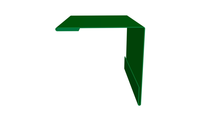 Угол внешний 30х30 0,45 PE с пленкой RAL 6002 лиственно-зеленый