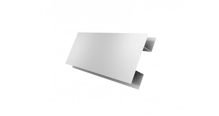 Планка H-образная 0,5 Satin с пленкой RAL 9003 сигнальный белый