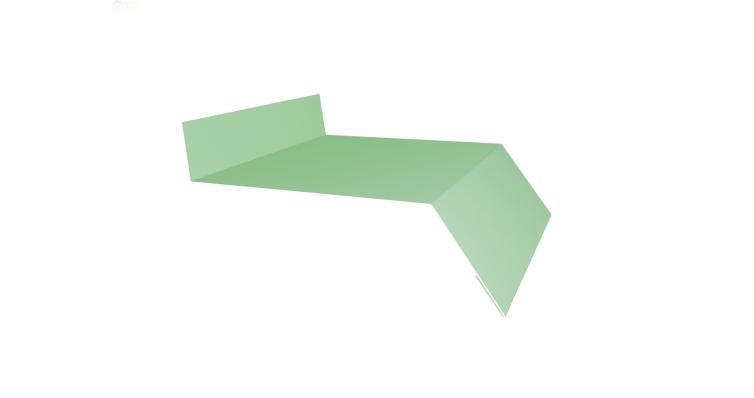 Отлив простой 150 0,45 PE с пленкой RAL 6019 бело-зеленый