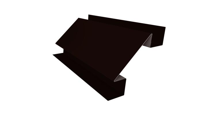 Угол внутренний сложный 75мм 0,5 Quarzit с пленкой RR 32 темно-коричневый