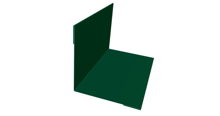 Угол внутренний 30х30 0,45 PE с пленкой RAL 6005 зеленый мох