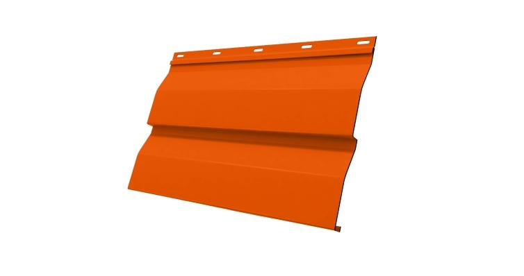 Корабельная Доска 0,265 0,45 PE RAL 2004 оранжевый