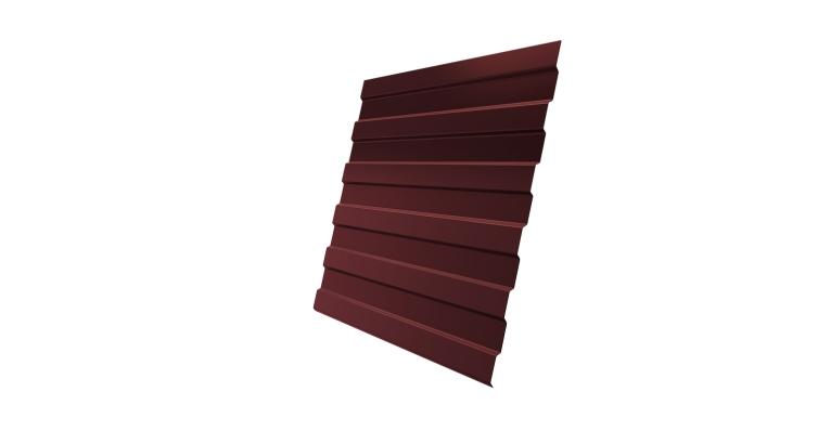Профнастил С8А 0,5 Satin RAL 3009 оксидно-красный