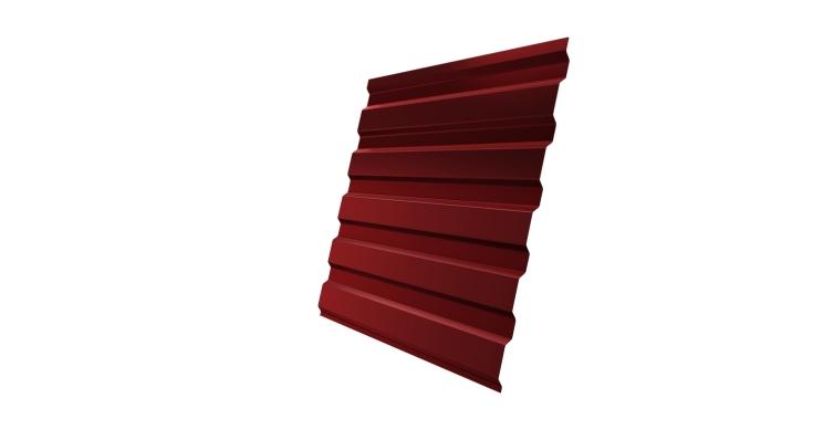 Профнастил С20А 0,45 PE RAL 3011 коричнево-красный