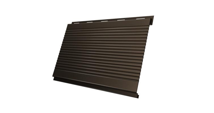 Вертикаль 0,2 Grand Line gofr 0,5 Velur20 с пленкой RR 32 темно-коричневый