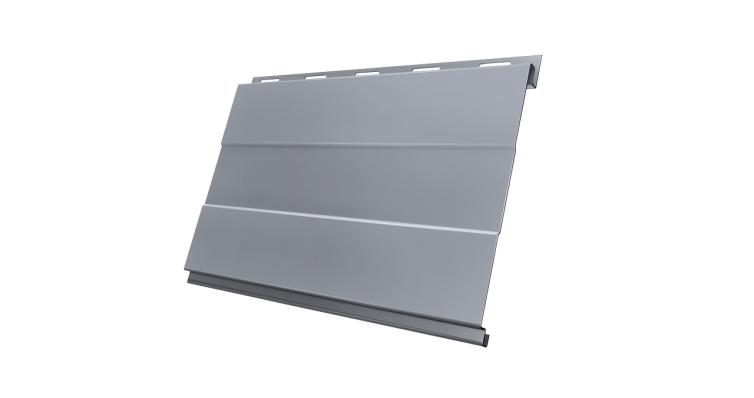 Вертикаль 0,2 prof 0,45 PE с пленкой RAL 9006 бело-алюминиевый