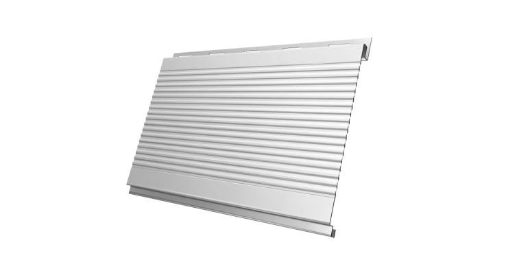 Вертикаль 0,2 gofr 0,45 PE с пленкой RAL 9003 сигнальный белый
