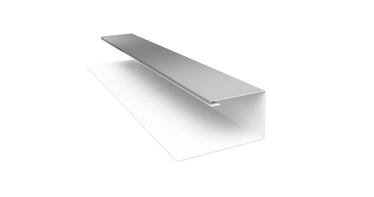 Планка П-образная (Блок-хаус, Экобрус) Grand Line 0,45 PE с пленкой RAL 9003 сигнальный белый