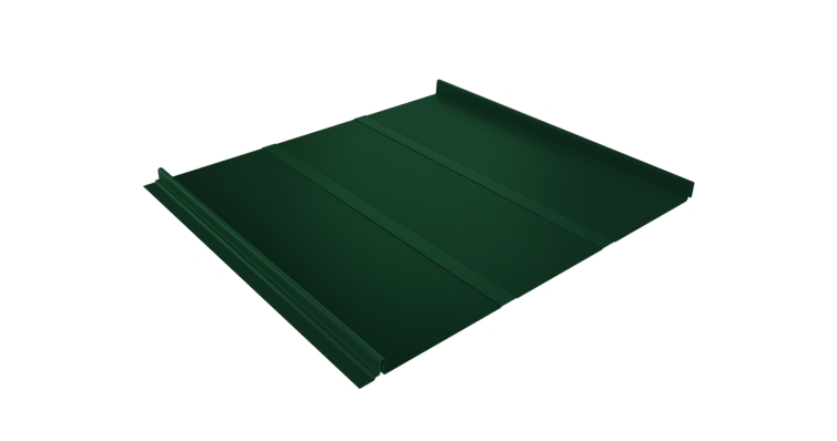 Кликфальц Line Grand Line 0,5 Velur20 с пленкой на замках RAL 6005 зеленый мох