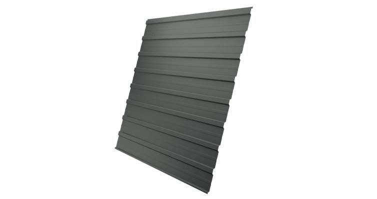Профнастил С10A 0,45 PE RAL 7005 мышино-серый