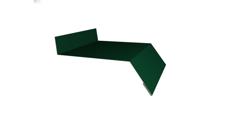 Отлив простой 100 0,4 PE с пленкой RAL 6005 зеленый мох
