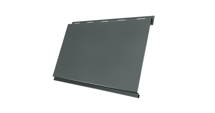 Вертикаль 0,2 classic 0,45 PE с пленкой RAL 7005 мышино-серый