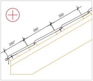 Укладка обрешетки при монтаже металлочерепицы